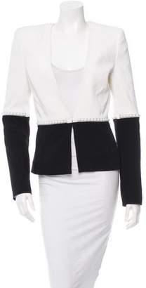 Thierry Mugler Two-Tone Embellished Jacket