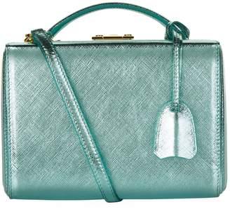 Mark Cross Small Metallic Grace Box Bag