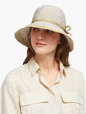 a63f78b1ed3 John Lewis   Partners Packable Straw Trim Summer Hat