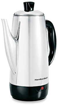 Hamilton Beach® Stainless Steel 12-Cup Percolator