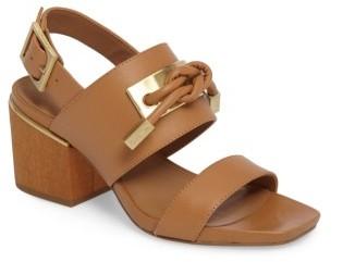 Women's Calvin Klein Jilline Square Knot Sandal $148.95 thestylecure.com