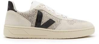 Veja V 10 Suede Trainers - Mens - White Multi