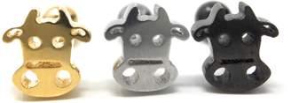Wannabe 16G Cow Barbell Bar Earrings Helix Tragus Fashion Body Ear Piercing