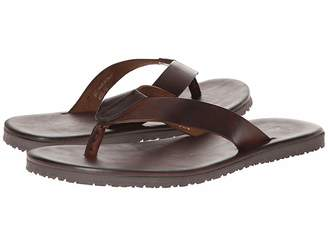 Matteo Massimo Leather Thong Sandal