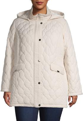 London Fog Multi Quilted Jacket