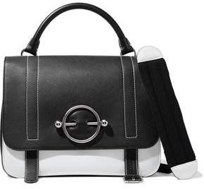 J.W.Anderson Disc Large Two-tone Leather And Suede Shoulder Bag