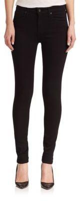 AG Farrah High-Rise Skinny Jeans $178 thestylecure.com