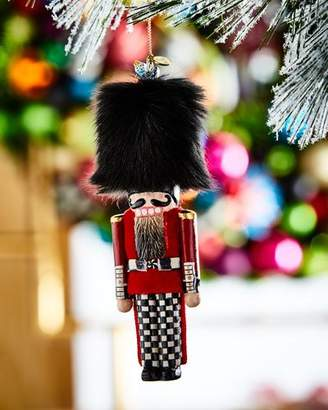 Mackenzie Childs MacKenzie-Childs Buckingham Palace Guard Nutcracker Christmas Ornament