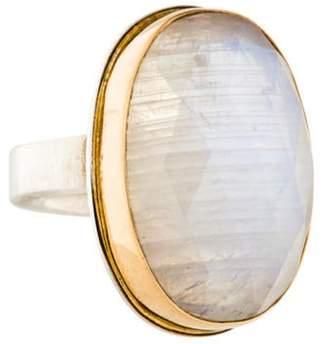 Jamie Joseph Moonstone Labradorite Ring silver Moonstone Labradorite Ring