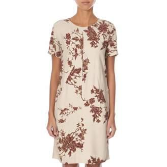Cream/Red Louella Dress