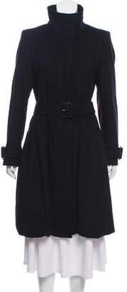 Burberry Long Wool-Cashmere Coat