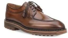 Bruno Magli Camino Split Toe Leather Bluchers