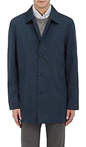 Hettabretz HETTABRETZ MEN'S COTTON-SILK TECH-FABRIC JACKET