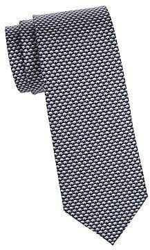 Salvatore Ferragamo Men's Elephants Silk Tie