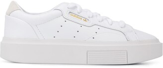adidas Lace-Up Logo Sneakers