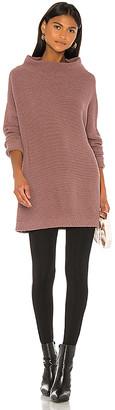 Free People Ottoman Slouchy Tunic Sweater Dress