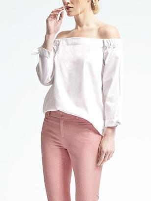 Off-Shoulder Top $78 thestylecure.com