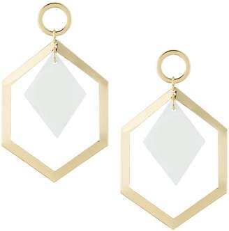 Fragments for Neiman Marcus Geometric Shell Drop Earrings