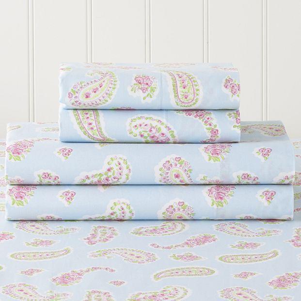 Cornwall Paisley Pillowcases