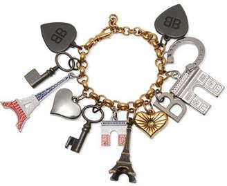 Balenciaga Gold-tone Charm Bracelet - Brass