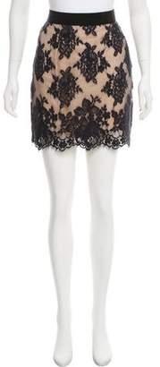 3.1 Phillip Lim Floral Lace Skirt