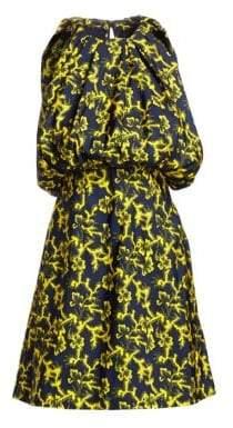 Calvin Klein Floral Blouson Dress