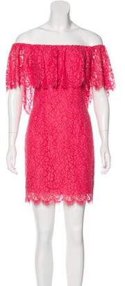 Rachel Zoe Off-The-Shoulder Mini Dress w/ Tags