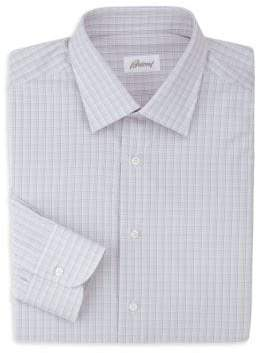 Brioni Checked Dress Shirt