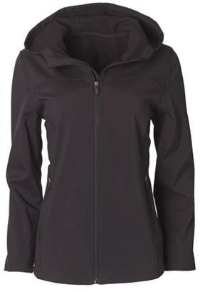 Big Chill Women's Soft Shell Hooded Zip-Front Jacket