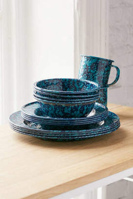 Crow Canyon Home 16-Piece Speckled Enamelware Starter Kit