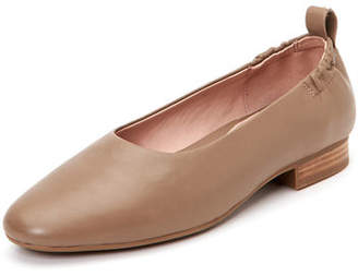 a2208c85232f Taryn Rose Bess Leather Ballet Flats with Contoured Arch Support