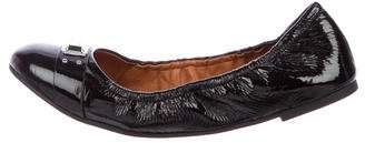 Marc by Marc Jacobs Patent Leather Round-Toe Flats