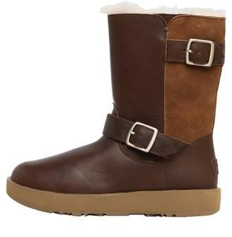 UGG Womens Breida Waterproof Classic Boots Chestnut