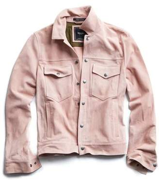 Todd Snyder Italian Suede Snap Front Dylan Jacket