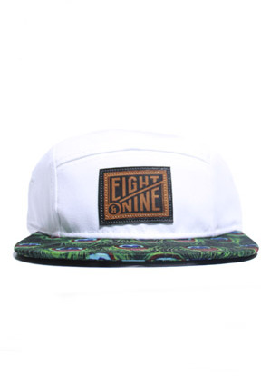 8&9 Clothing Grape Peacock 5-Panel Strap Back