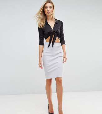 Asos Tall TALL High Waisted Pencil Skirt
