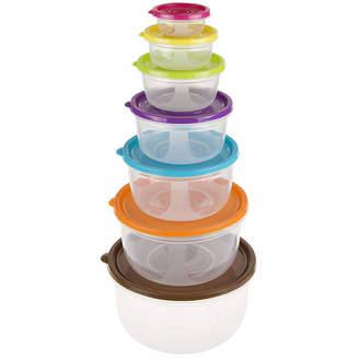 Asstd National Brand 14-Piece Round Food Storage Set