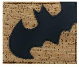 Batman Logo Cork Wallet