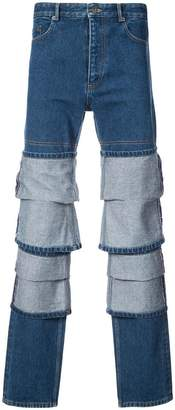 Y/Project Y / Project panel straight-leg jeans