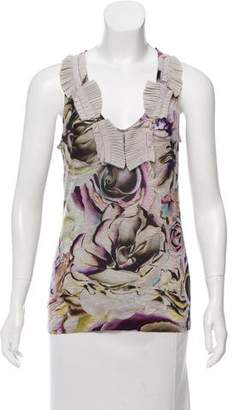 Christian Lacroix Printed Sleeveless Top