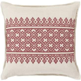 """Art of Knot Chilton 22"""" x 22"""" Pillow (with Down Fill)"""