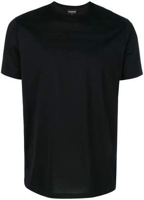 Emporio Armani tonal eagle logo T-Shirt