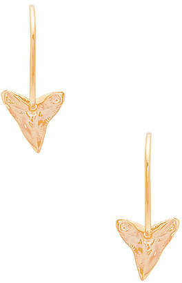joolz by Martha Calvo Big Johns Shark Tooth Earrings
