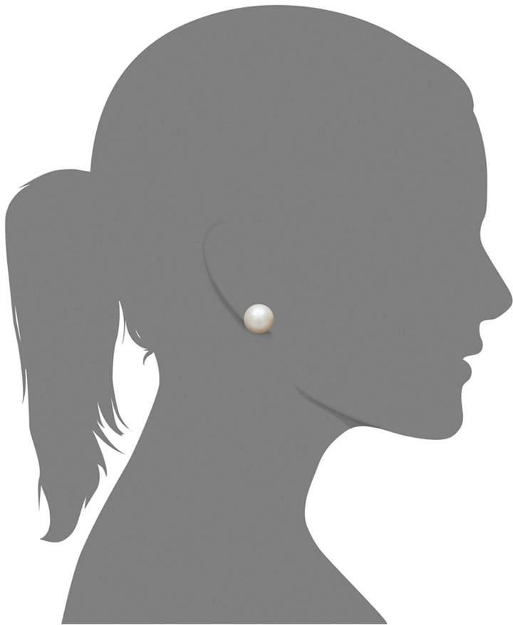 Belle de Mer Pearl Earrings, 14k Gold AA Akoya Cultured Pearl Stud Earrings (5-1/2mm)