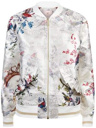 Ted Baker Tanzi Floral Bomber Jacket