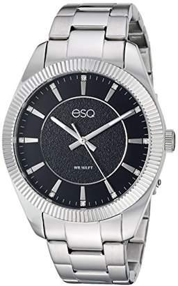 ESQ Men's 'Dress' Quartz Stainless Steel Casual Watch