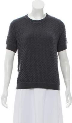 Marc Jacobs Textured Cashmere & Silk-Blend Top