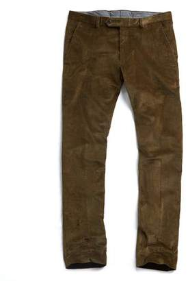 Todd Snyder Sutton Corduroy Trouser in Olive