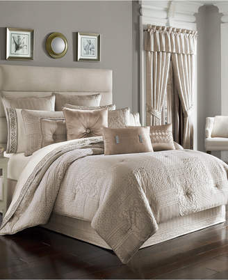 J Queen New York Wilmington Alabaster Comforter Sets