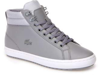 Lacoste Womens Straightset Insulate Leather Chukka